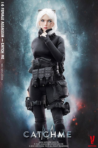 Catch Me Female Assassin 1/6 Scale Figure by Very Cool