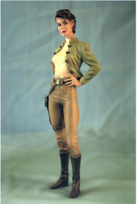 Ms. Rogers 1/6 Scale Model Kit Tribute to Battlestar Galactica