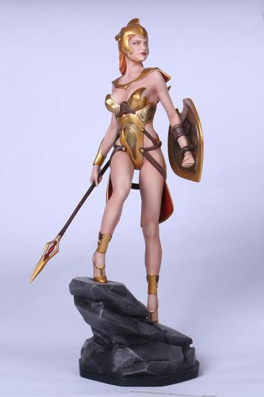 Athena Greek Goddess Fantasy Figure Gallery Greek Mythology 1/6 Scale Statue