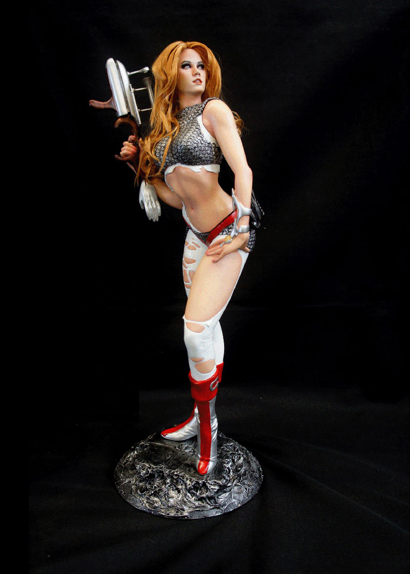 "Barbarella Queen Of Galaxy Warrior 1/4 Scale 18"" Tall Model Kit"