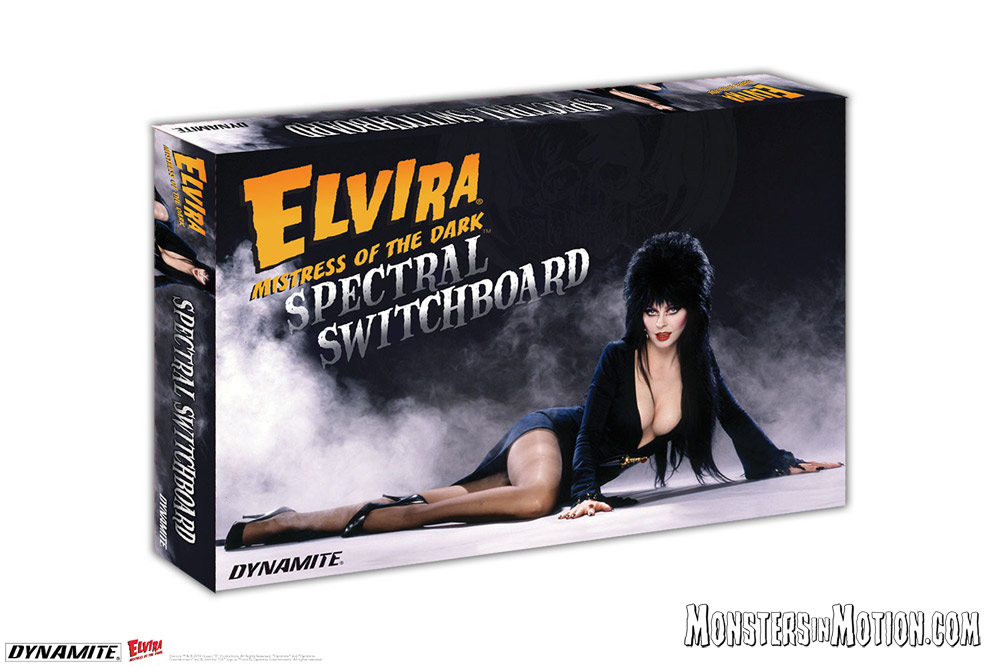 Elvira Mistress of the Dark Spectral Switchboard Ouija Game