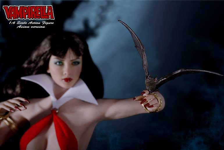 Vampirella Asian Version 1/6th Scale Action Figure by Phicen