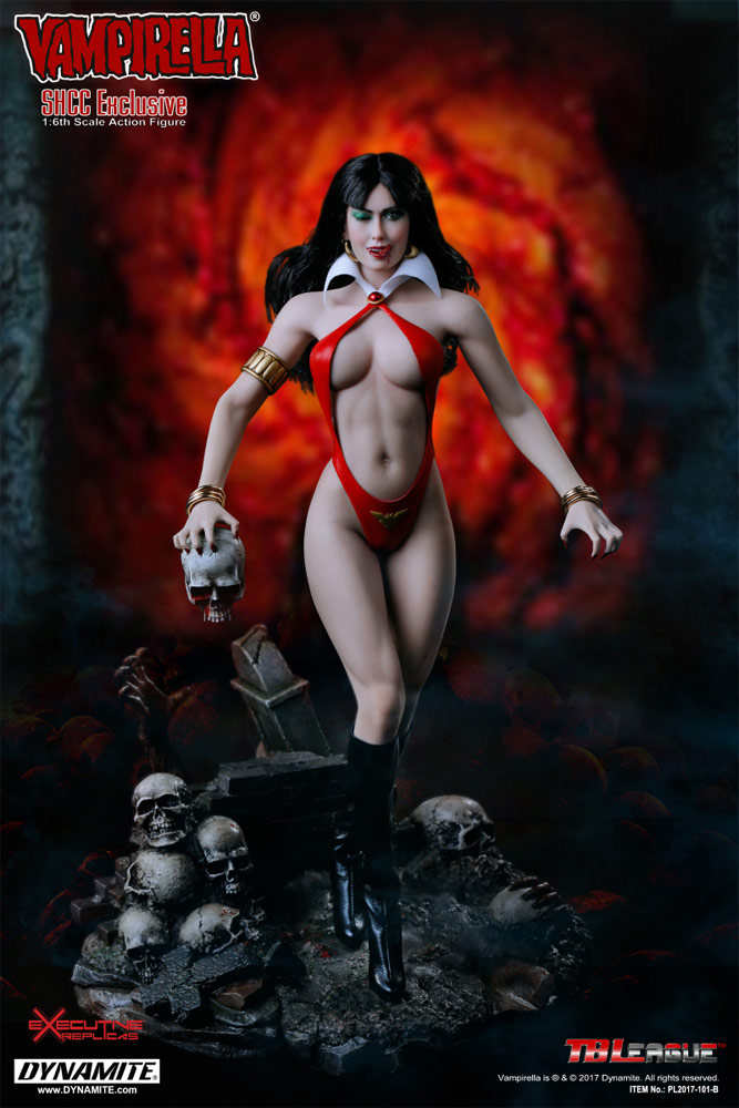 Vampirella Shanghai Comic-Com Exclusive 1/6 Scale Figure by TBLeague