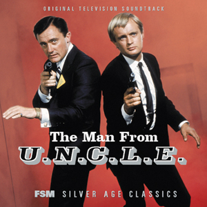 Man From U.N.C.L.E. 1964 Soundtrack CD Jerry Goldsmith - Click Image to Close