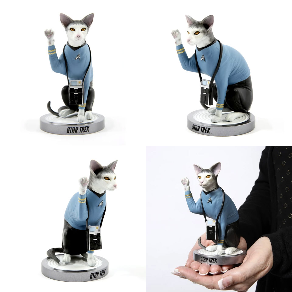 Star Trek Cats Spock Cat Limited Edition Statue