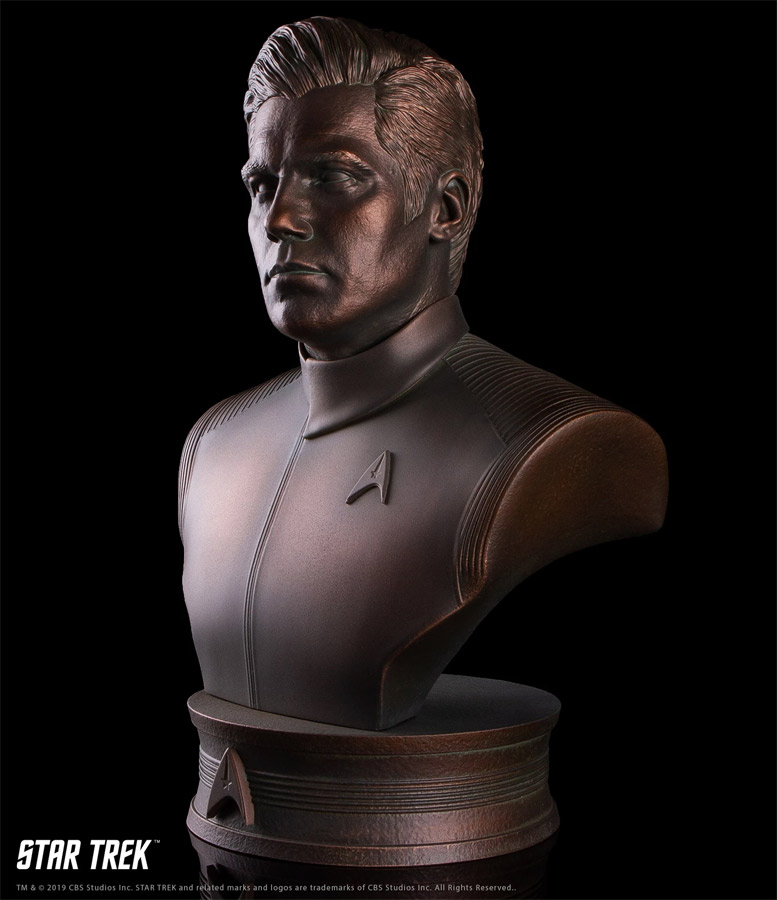 Star Trek Discovery Captain Christopher Pike 1/2 Scale Bust
