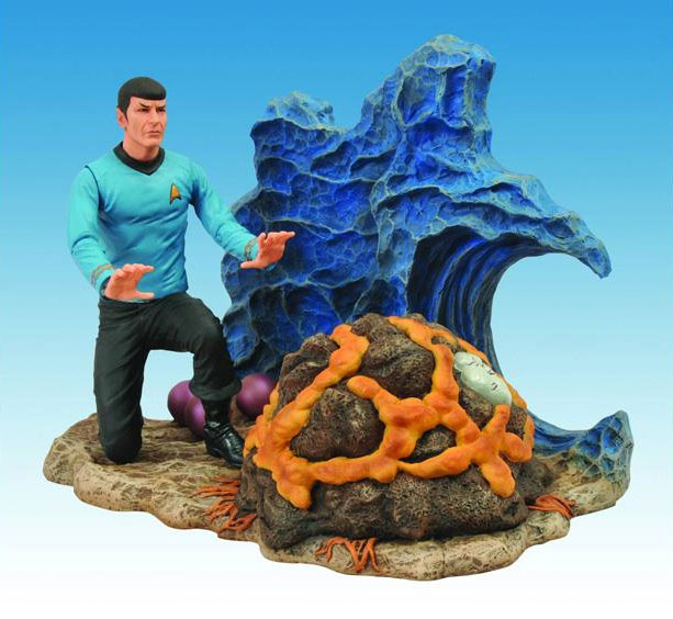 Star Trek Spock and Horta 50th Anniversary Figure