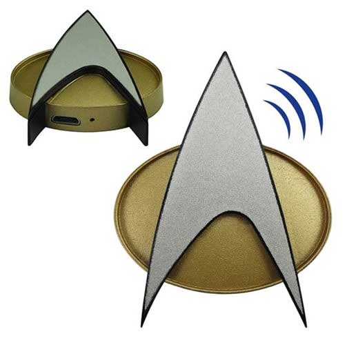 Star Trek TNG Bluetooth Communicator Badge Replica