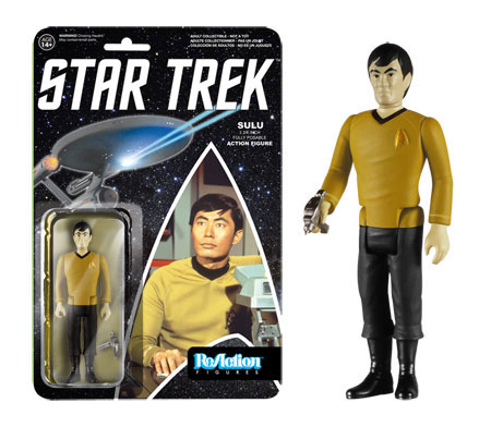 "Star Trek ReAction Mr. Sulu 3 3/4 "" Retro Kenner Style Figure"