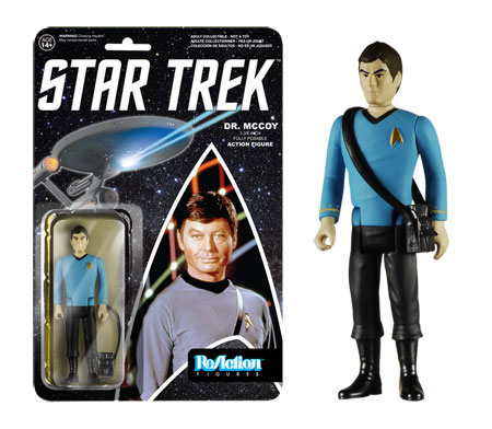 "Star Trek ReAction Dr. McCoy 3 3/4 "" Retro Kenner Style Figure"