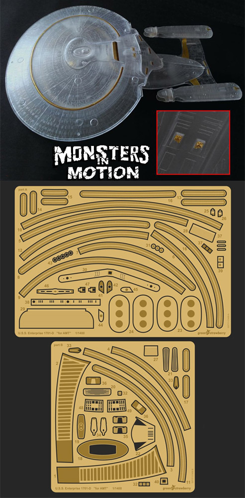 Monsters in Motion, Movie, TV Collectibles, Model Hobby Kits