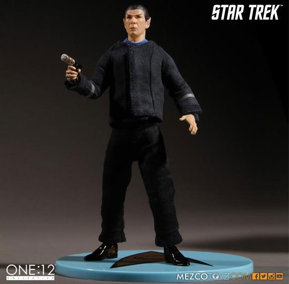 Star Trek Spock The Cage Version 1/12 Scale Collective Figure