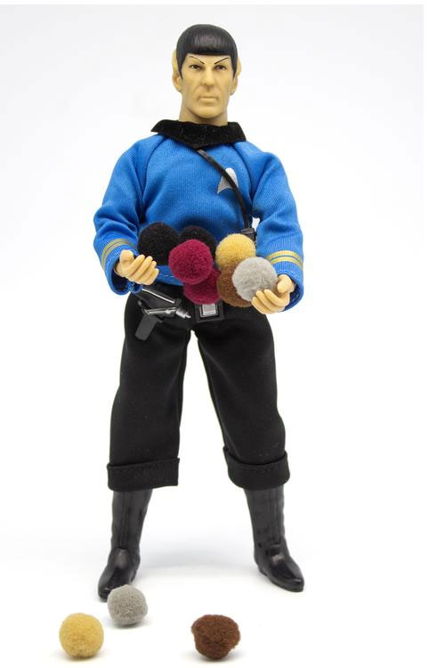 Star Trek Mego Wave 6 Set of 3 Figures Trouble with Tribbles Kirk and Spock plus Gorn