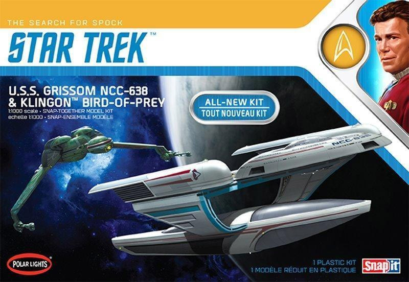 Star Trek USS Enterprise NCC-1701-A Refit 1/350 Scale Model