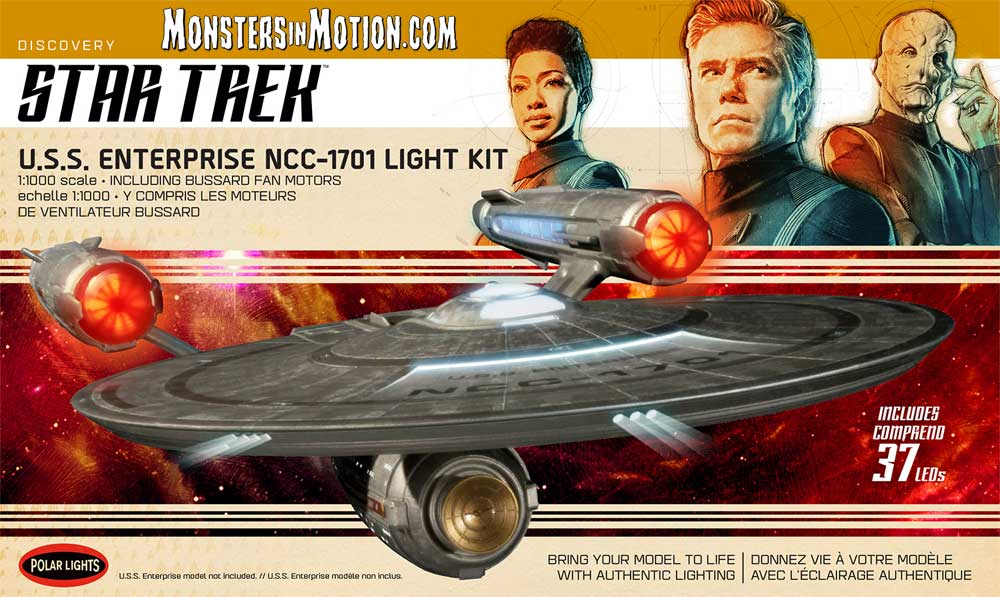 Star Trek Discovery Enterprise NCC-1701 1/1000 Scale Model Light Kit