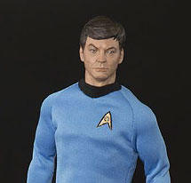 Star Trek Dr. McCoy 1/6 Scale Articulated Figure by QMX FREE SHIPPING