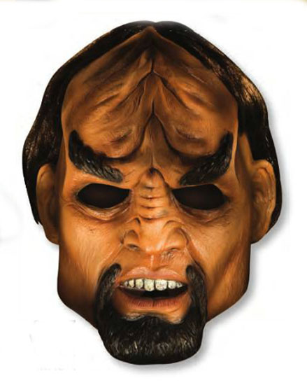 Star Trek TNG Worf Deluxe Adult Latex Mask