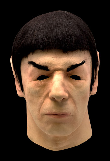 Star Trek TOS Spock Latex Mask 1975 Don Post Replica