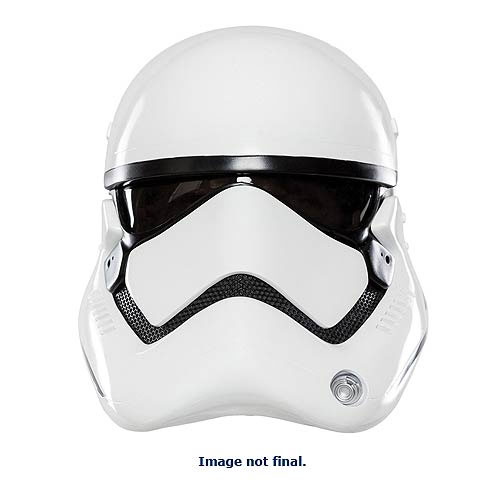 Star Wars The Force Awakens First Order Stormtrooper Helmet Prop Replica