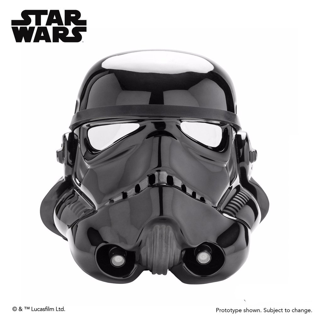 Star Wars Imperial Shadow Stormtrooper Helmet Prop Replica Model Kit