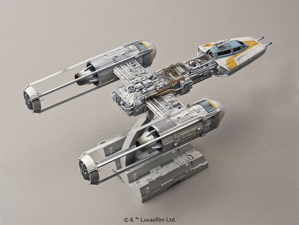 Bandai 196694 neu 2017 Star Wars Y 1:72 Wing Starfighter