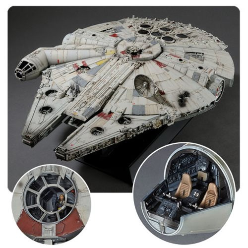 Star Wars Millennium Falcon 1/72 Scale Perfect Grade Model Kit (REGULAR VERSION)