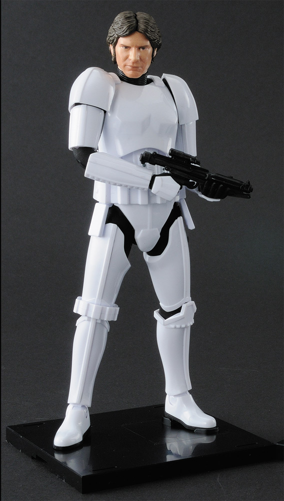 Star Wars Han Solo Stormtrooper 1/12 Scale Model Kit by Bandai