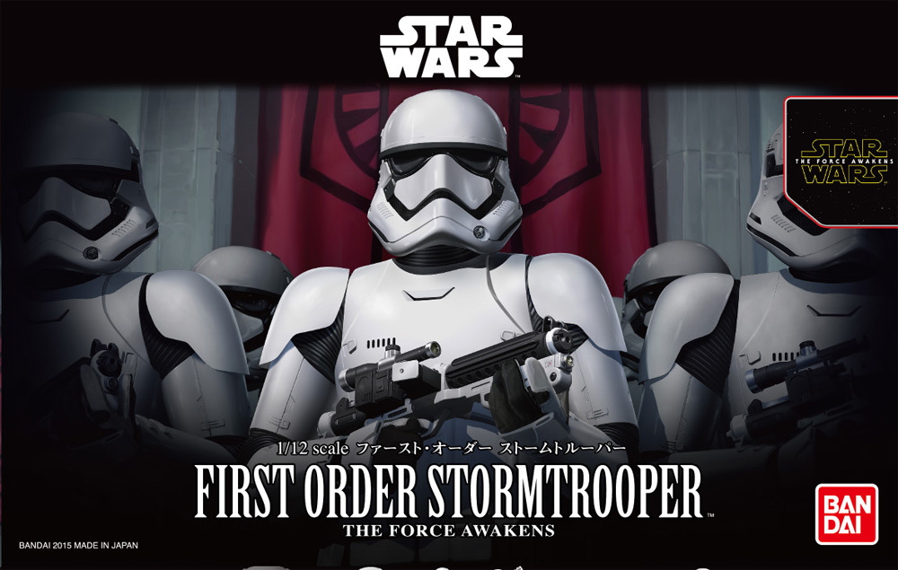 Star Wars First Order Stormtrooper 1/12 Scale Model Kit