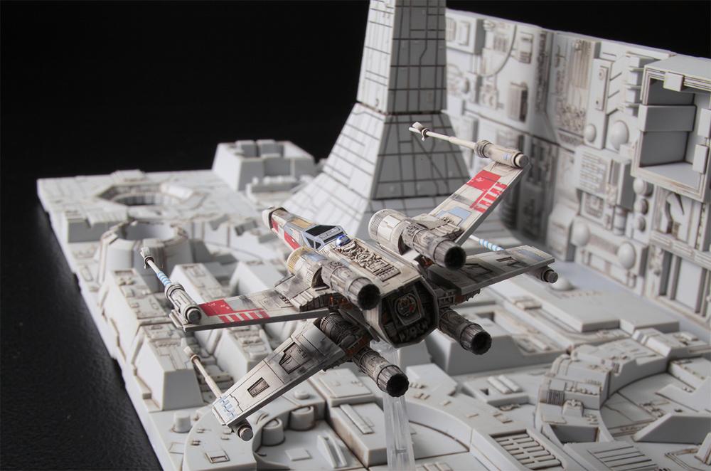 Star Wars Death Star Attack Set 1/144 Scale Model Kit Star