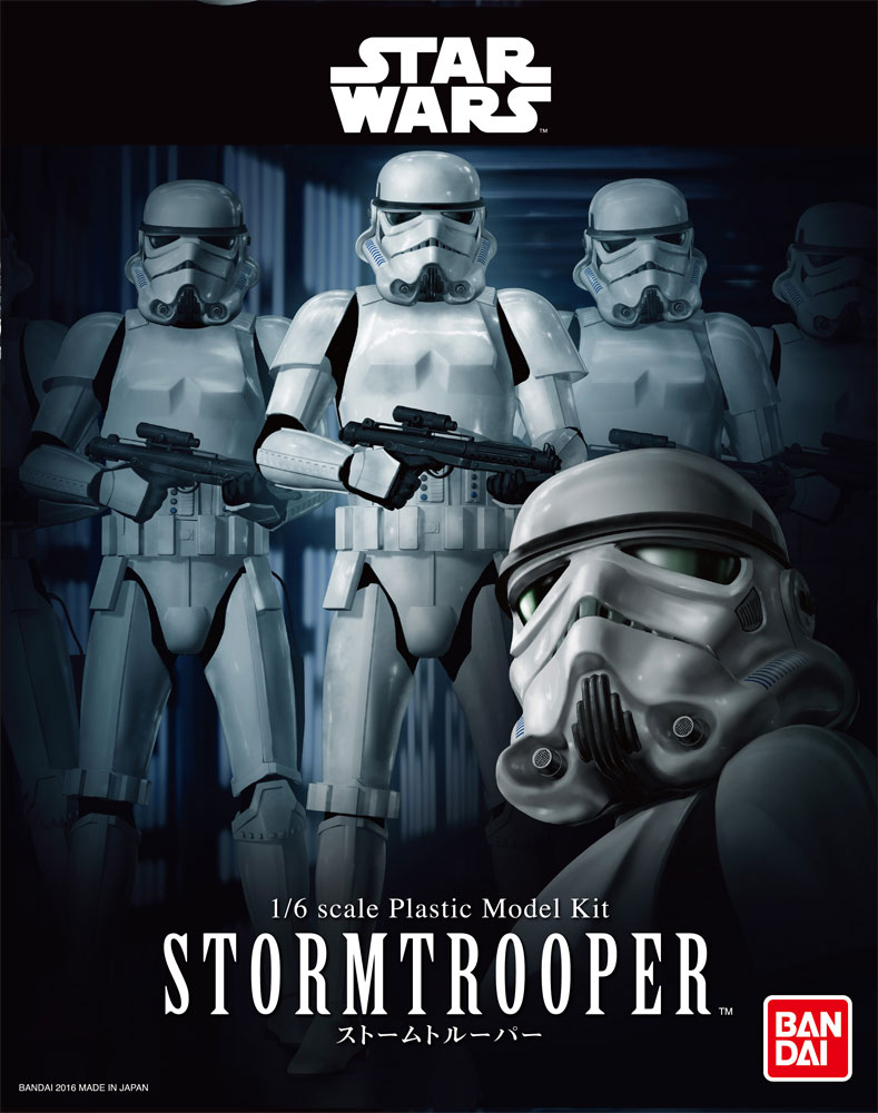 Star Wars Stormtrooper 1/6 Scale Model Kit by Bandai Japan