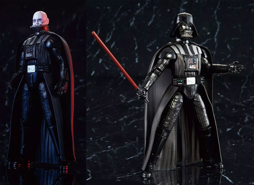 Star Wars Darth Vader Return of the Jedi 1/6 Scale Model Kit by Bandai Japan