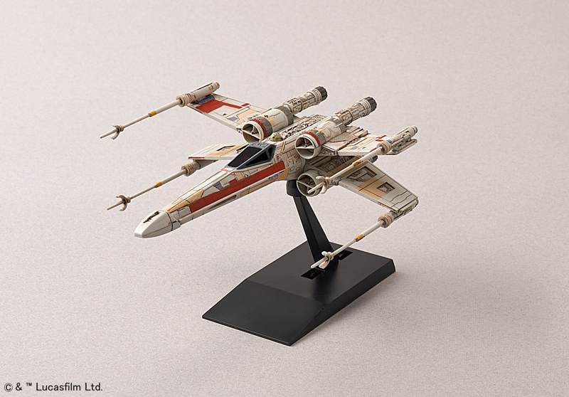 Star Wars X-Wing Starfighter 1/144 Scale Model Kit by Bandai