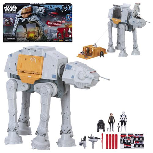 Star Wars Rogue One Rapid Fire Imperial AT-ACT Motorized Walking RC Vehicle
