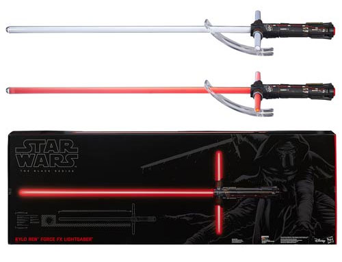 Star Wars The Force Awakens Kylo Ren Lightsaber Force FX