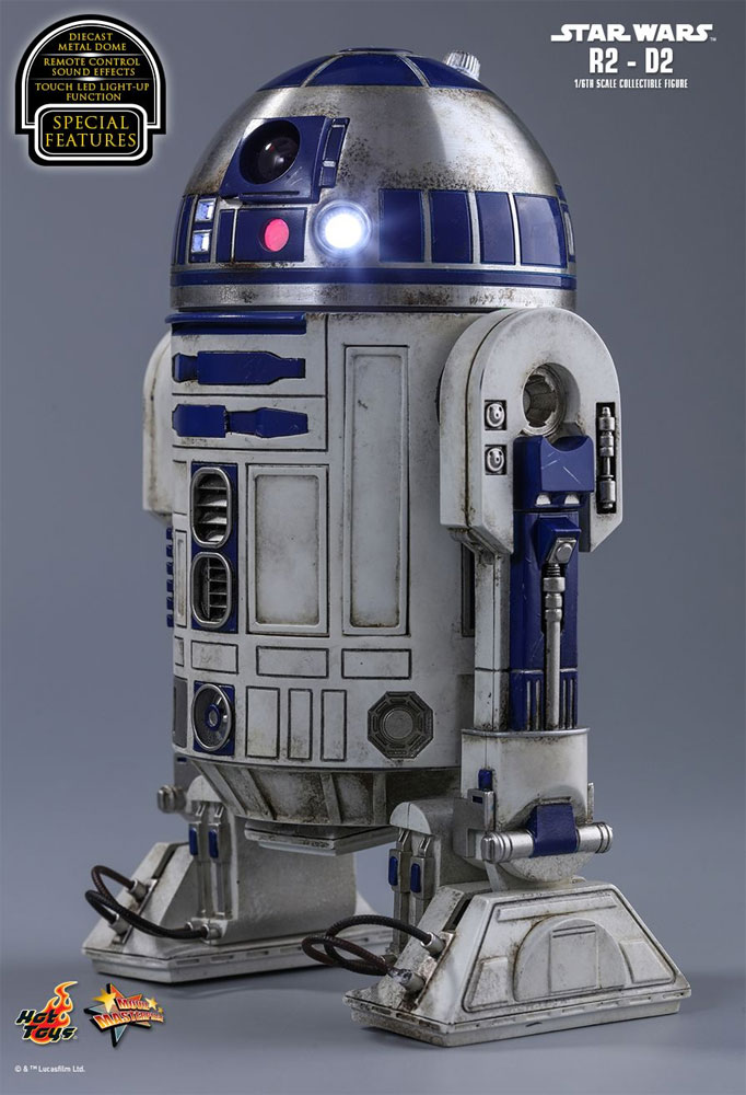 Star Wars The Force Awakens R2-D2 1/6 Scale Figure by HotToy
