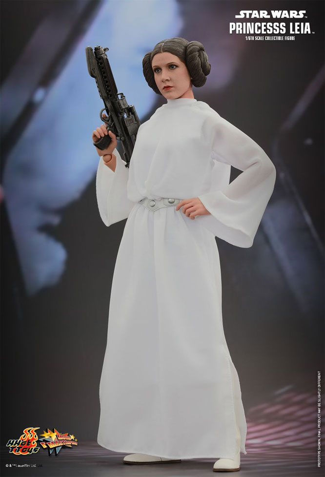 Star Wars Princess Leia 1/6 Scale Figure by Hot Toys