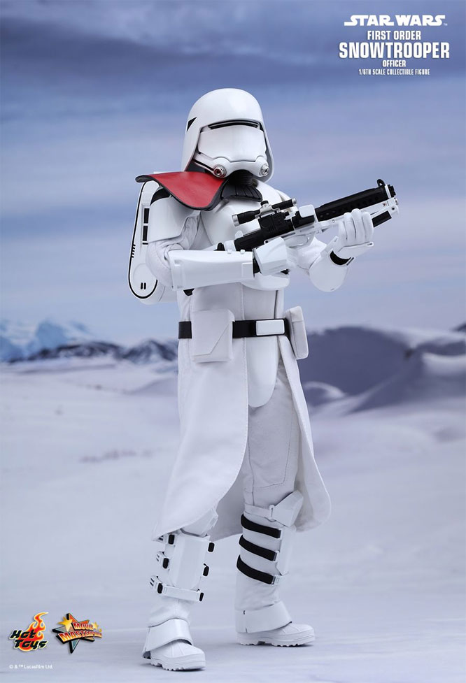 Star Wars The Force Awakens First Order Snowtrooper Officer 1/6 Scale Figure by Hot Toys