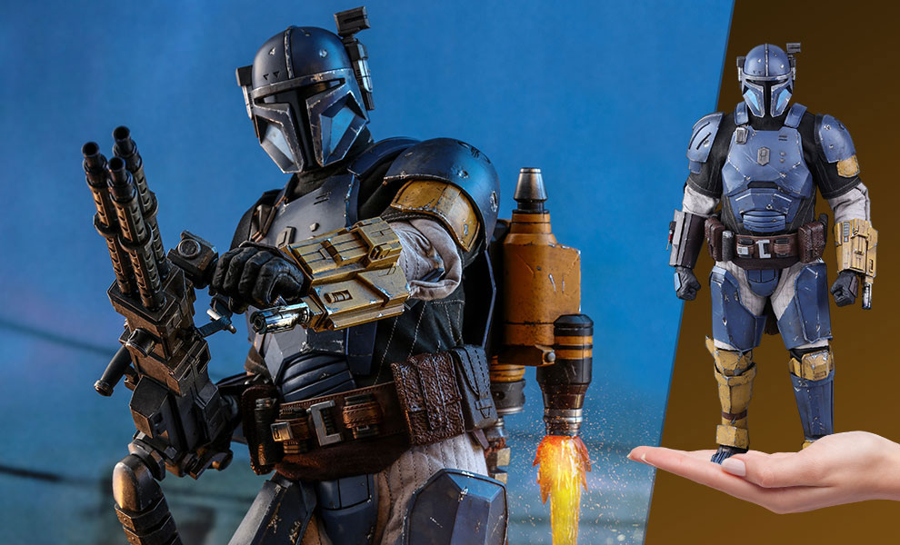 Star Wars The Mandalorian Heavy Infantry Mandalorian 1/6 Scale Figure by Hot Toys