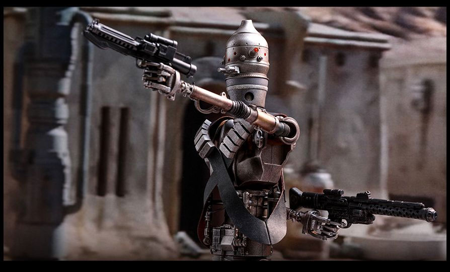 Star Wars The Mandalorian IG-11 1/6 Scale Figure by Hot Toys