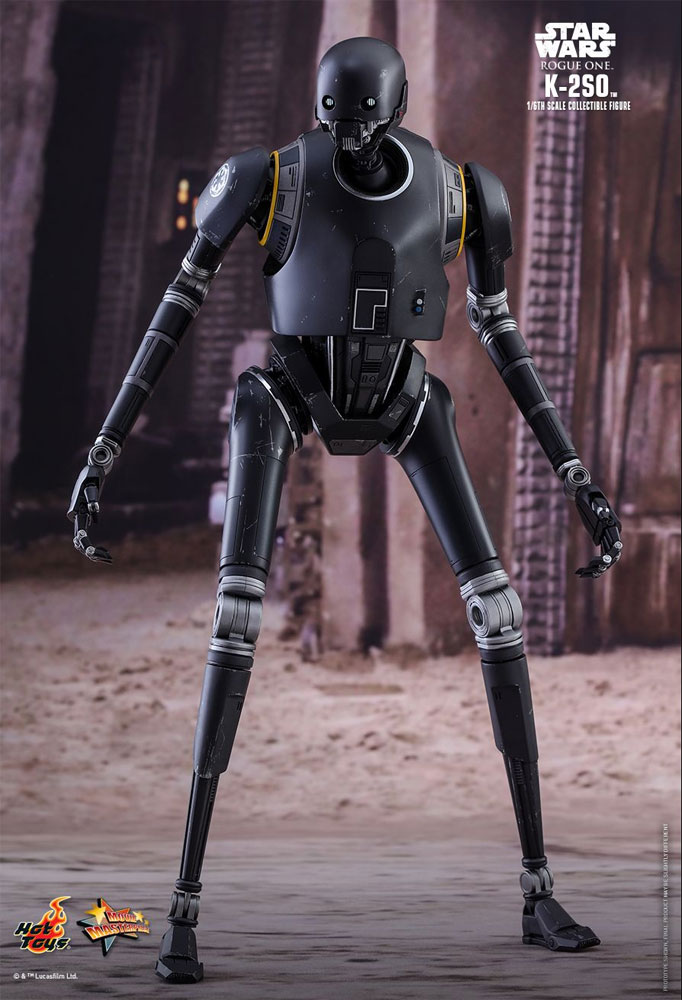 Star Wars Rogue One K-2SO Droid 1/6 Scale Figure by Hot Toys