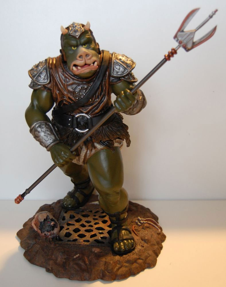Monsters in motion movie tv collectibles model hobby kits action figures monsters in motion - Star wars gamorrean guard ...