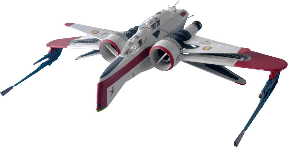 Star Wars Arc-170 Starfighter Painted Snap Model Kit
