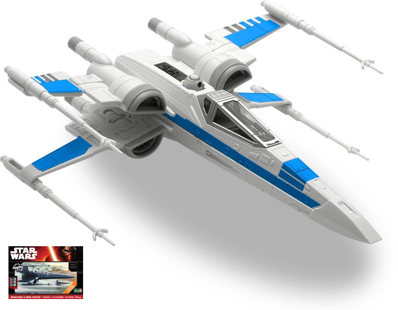 Star Wars The Force Awakens Resistance X-Wing SnapTite ...