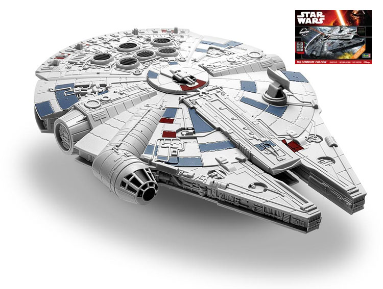 Star Wars The Force Awakens Millennium Falcon SnapTite Build & Play Model Kit