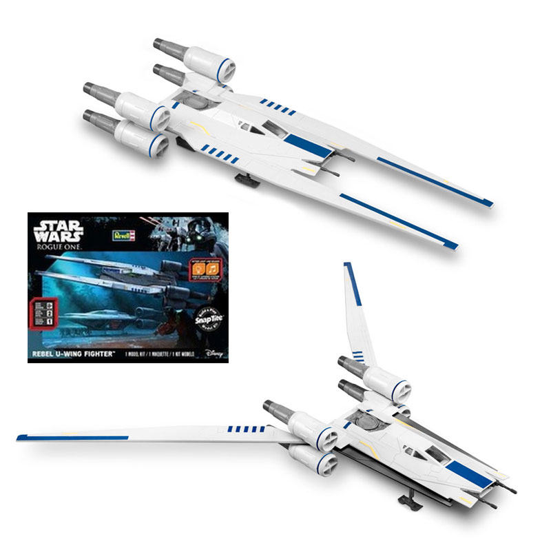 Star Wars Rogue One Rebel U-Wing Fighter Snap-Tite Model Kit by Revell