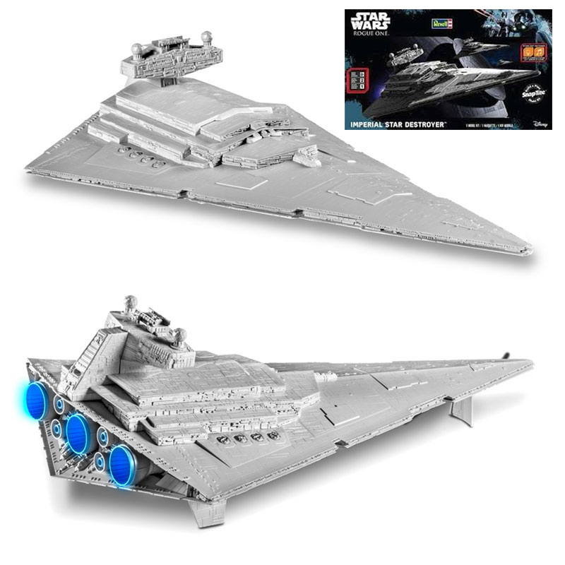 Star Wars Rogue One Imperial Star Destroyer Snap Tite Model Kit by Revell