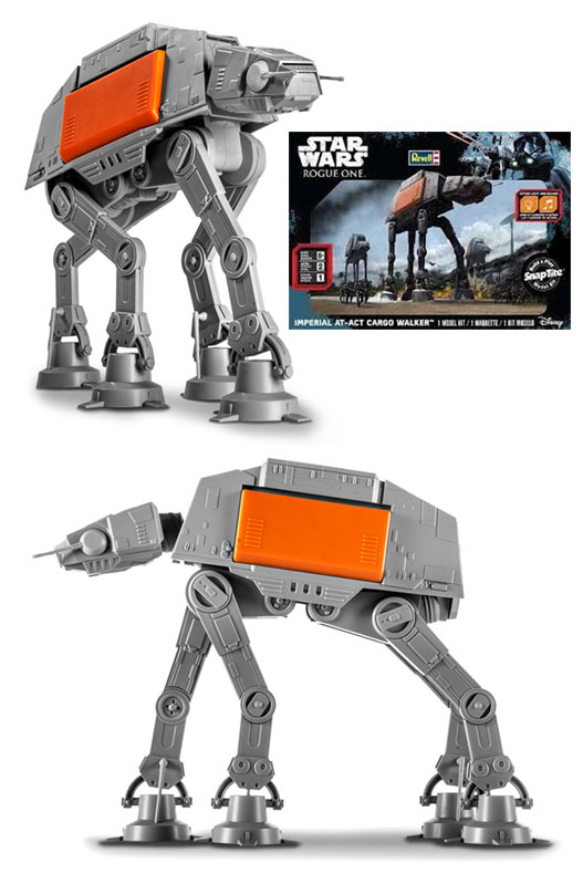 Star Wars Rogue One Imperial AT-ACT Cargo Walker Snap Tite Model Kit by Revell
