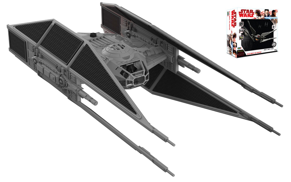 Star Wars The Last Jedi Kylo Ren's TIE Fighter Model Kit