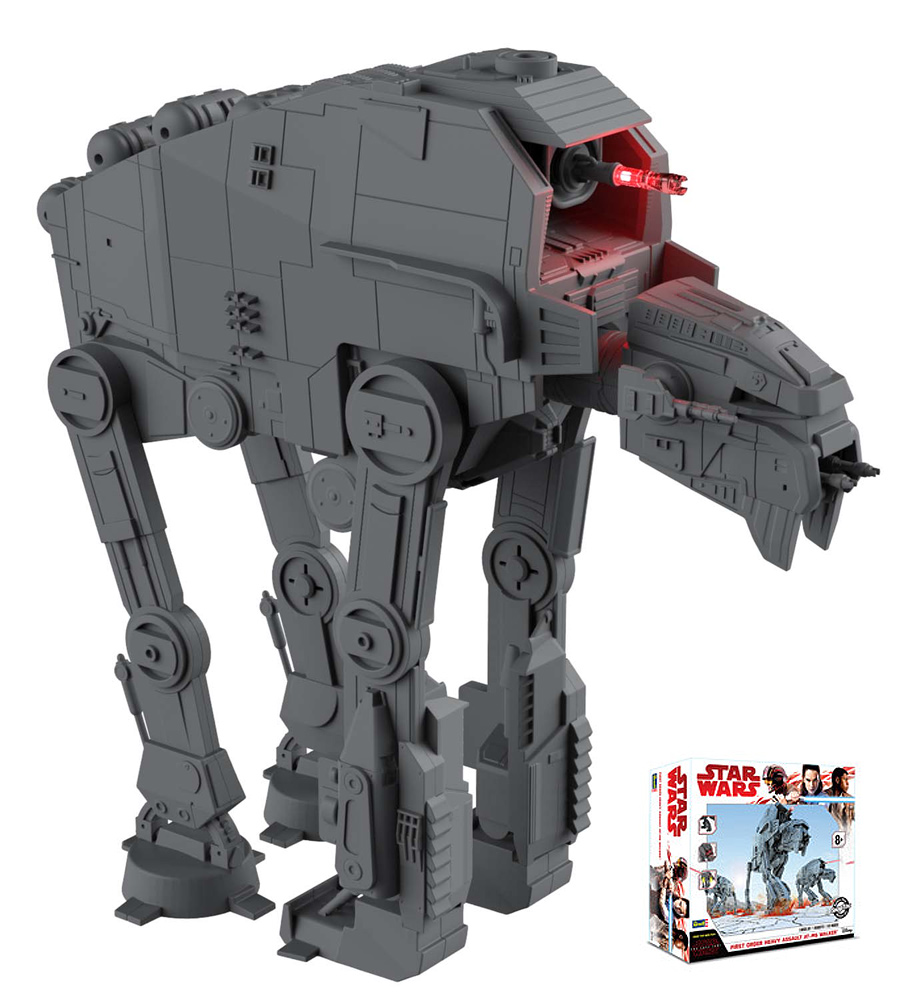 Star Wars The Last Jedi First Order Heavy Assault AT-M6 Walker Model Kit