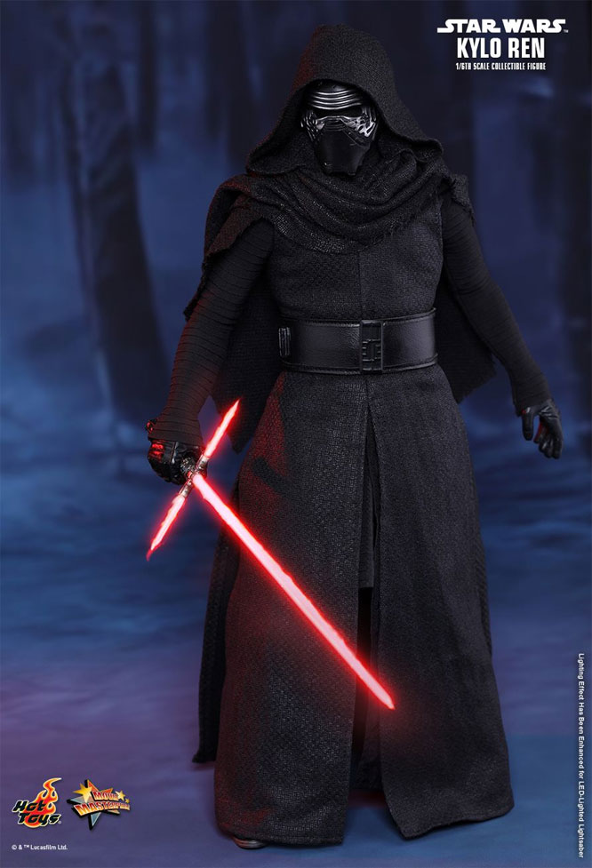 Star Wars The Force Awakens Kylo Ren 1/6 Scale Figure